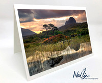 Greeting Card - Suilven, Lochinver