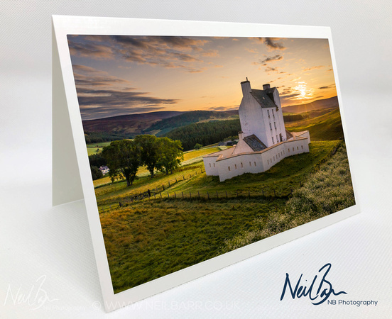 Greeting Card - Corgarff Castle, Cairngorms