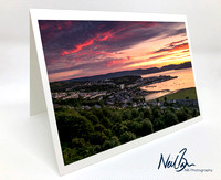 Greeting Card - Gourock from Lyle Hill