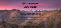 Gift Certificate AUS $5