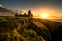 Dawn at New Slains Castle