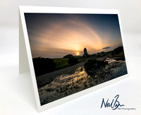 Greeting Card -  Smailholm Tower II