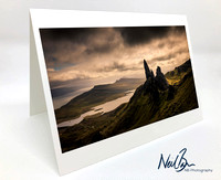 Greeting Card - The Old Man of Storr
