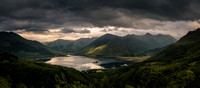 Loch Duich and The Five Sisters